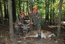Whitetail Hunt Success at High Adventure Ranch